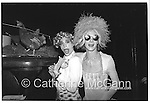L-R:  Michael Alig and James St. James pose for a photo at Limelight night club in April 1991 in New York City.<br /> <br /> Copyright Catherine McGann / All Rights Reserved<br /> www.catherinemcgann.com<br /> catherinemcgann@gmail.com