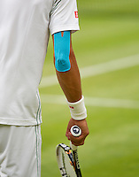 29-06-12, England, London, Tennis , Wimbledon, tape