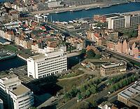 November 1997. Eilandje Antwerpen.