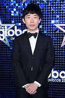 Ji Liu<br /> arriving for the Global Awards 2018 at the Apollo Hammersmith, London<br /> <br /> ©Ash Knotek  D3384  01/03/2018