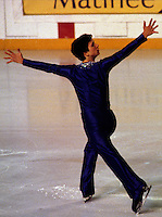 Brian Boitano USA figure skater competes at the 1980 Skate Canada in Ottawa, Canada. Photo copyright Scott Grant.