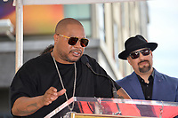 LOS ANGELES, CA. April 18, 2019: George Lopez &amp; Cypress Hill, B Real at the Hollywood Walk of Fame Star Ceremony honoring hip-hop group Cypress Hill.<br /> Pictures: Paul Smith/Featureflash