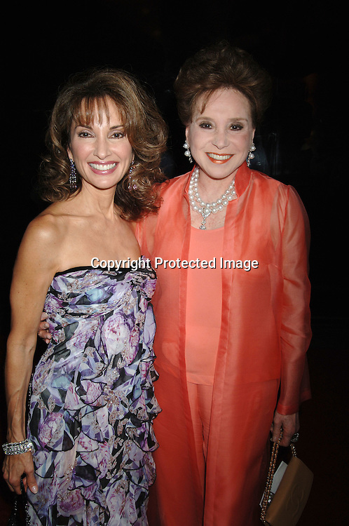 Susan Lucci and Cindy Adams..arriving at The 31st Annual American Women in Radio & Television's Gracie Allen Awards on June 19, 2006 at..The Marriott Marquis Hotel. ..Robin Platzer, Twin Images