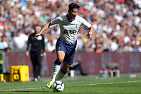 Son Heung-Min of Tottenham Hotspur during Tottenham Hotspur vs Liverpool, Premier League Football at Wembley Stadium on 15th September 2018
