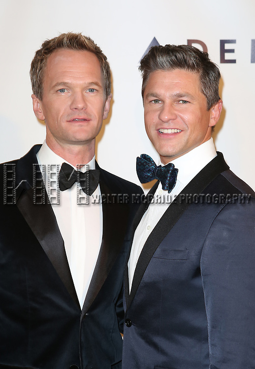 Neil Patrick Harris and  David Burtka attends the Drama League's 30th Annual 'Musical Celebration of Broadway' honoring Neil Patrick Harris at the Pierre Hotel on February 3, 2014 in New York City.
