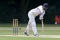 S Prabhakar in batting action for Ilford during Wanstead and Snaresbrook CC vs Ilford CC, Shepherd Neame Essex League Cricket at Overton Drive on 17th June 2017