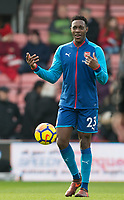 Danny Welbeck of Arsenal ahead of the Premier League match between Bournemouth and Arsenal at the Goldsands Stadium, Bournemouth, England on 14 January 2018. Photo by Andy Rowland.