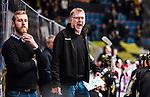 Stockholm 2015-01-04 Ishockey Hockeyallsvenskan AIK - Vita H&auml;sten :  <br /> AIK:s tr&auml;nare huvudtr&auml;nare Peter Nordstr&ouml;m reagerar under matchen mellan AIK och Vita H&auml;sten <br /> (Foto: Kenta J&ouml;nsson) Nyckelord:  AIK Gnaget Hockeyallsvenskan Allsvenskan Hovet Johanneshov Isstadion Vita H&auml;sten portr&auml;tt portrait