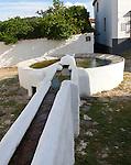 Water fountain in Linares de la Sierra, Sierra de Aracena, Huelva province, Spain