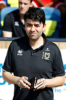 MK Dons manager, Dan Micciche seen during the Sky Bet League 1 match between Southend United and MK Dons at Roots Hall, Southend, England on 21 April 2018. Photo by Carlton Myrie.