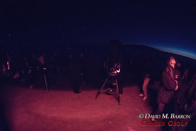 Viewing Stars From Telescopes On Mauna Kea