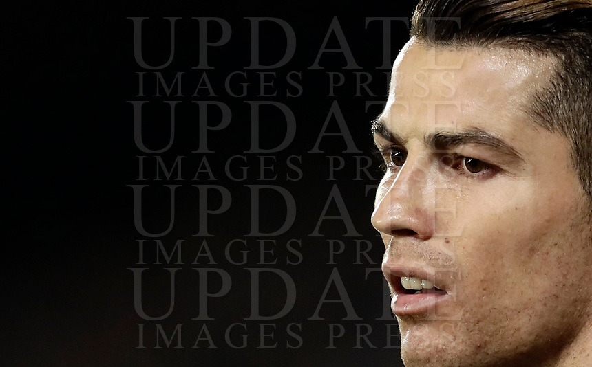 Football Soccer: UEFA Champions League Round of 16 second leg, Napoli-Real Madrid, San Paolo stadium, Naples, Italy, March 7, 2017. <br /> Real Madrid's Cristiano Ronaldo reacts during the Champions League football soccer match between Napoli and Real Madrid at the San Paolo stadium, 7 March 2017. <br /> Real Madrid won 3-1 to reach the quarter-finals.<br /> UPDATE IMAGES PRESS/Isabella Bonotto