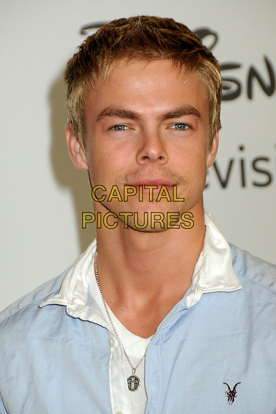 DEREK HOUGH.Disney ABC Television Summer TCA Party 2010 held at The Beverly Hilton Hotel, Beverly Hills, California, USA..August 1st, 2010.headshot portrait blue white .CAP/ADM/BP.©Byron Purvis/AdMedia/Capital Pictures.