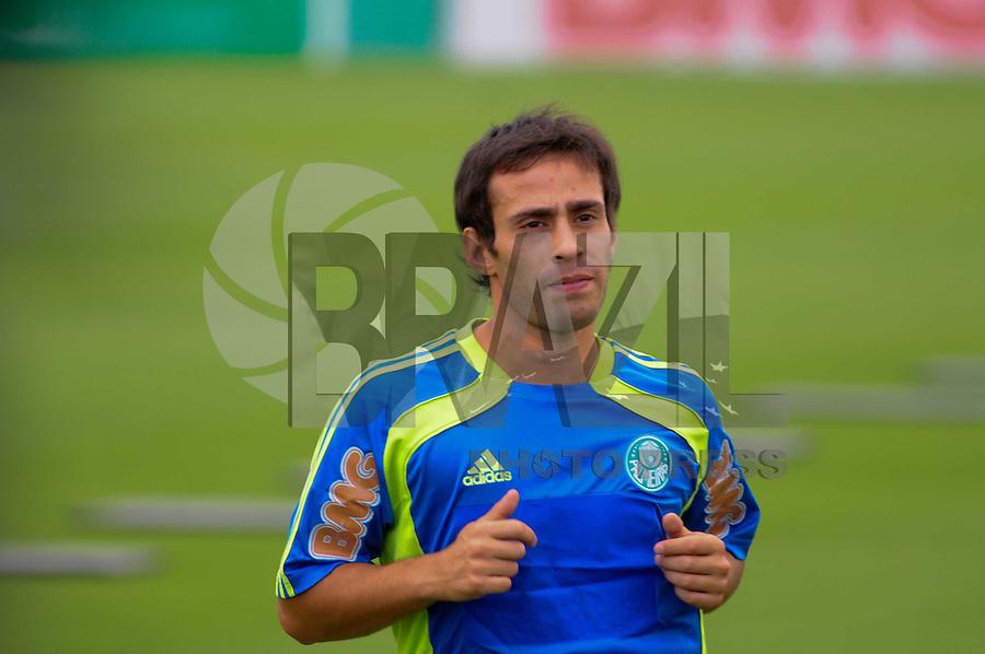 SAO PAULO, SP, 04 Janeiro 2012.Valdivia Reapresentacao do Palmeiras CT  (FOTO: ADRIANO LIMA - NEWS FREE)