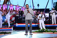 "Washington, DC - July 3, 2016: Singer, song writer and Motown legend Smokey Robinson performs during the dress rehearsal for the ""A Capitol Fourth"" concert on the west lawn of the U.S. Capitol, July 3, 2016. Robinson founded and fronted the Motown group The Miricles and also wrote and produced hits for other Motown groups, including The Temptations, Mary Wells, Brenda Holloway and Marvin Gaye. (Photo by Don Baxter/Media Images International)"