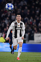 Cristiano Ronaldo (Juventus F.C.) in action during the Uefa Champions League 2018/2019 Group H football match between Juventus and Valencia at Juventus stadium, Torino, November 27, 2018 <br />  Foto Federico Tardito/ OnePlusNine / Insidefoto