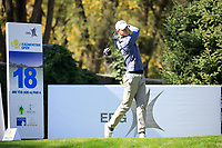 Ross Kellett (SCO) during the first round of the Kazakhstan Open presented by ERG played at Zhailjau Golf Resort, Almaty, Kazakhstan. 13/09/2018<br /> Picture: Golffile | Phil Inglis<br /> <br /> All photo usage must carry mandatory copyright credit (&copy; Golffile | Phil Inglis)