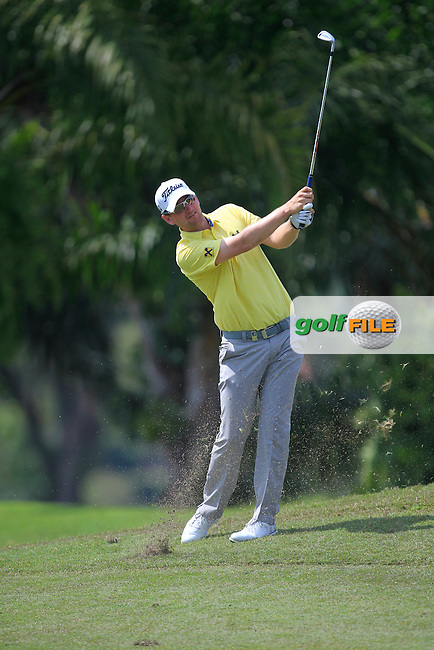 Bernd Wiesberger (GER) on the 9th fairway during Round 2 of the Maybank Championship on Friday 10th February 2017.<br /> Picture:  Thos Caffrey / Golffile<br /> <br /> All photo usage must carry mandatory copyright credit     (&copy; Golffile | Thos Caffrey)