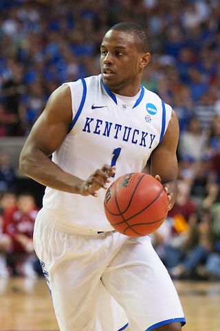 Kentucky Wildcats guard Darius Miller. Kentucky faced Indiana during the Sweet 16 round of the 2012 NCAA Tournament at the Georgia Dome in Atlanta,  March 23, 2012. Photo by Derek Poore