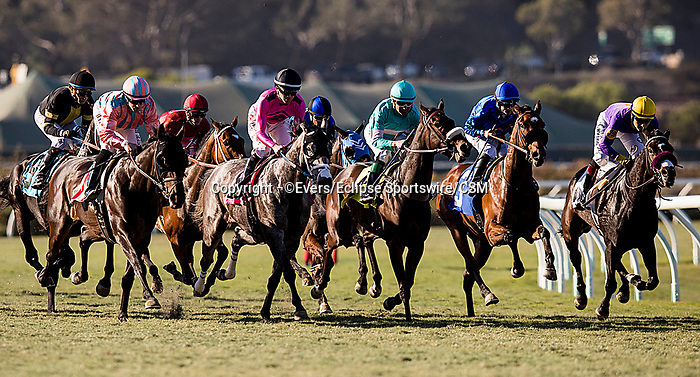 November 24, 2018:  Elsa with Joe Bravo up wins the Jimmy Durante Stakes at Del Mar on November 24, 2018 in Del Mar, California. Evers/Eclipse Sportswire/CSM