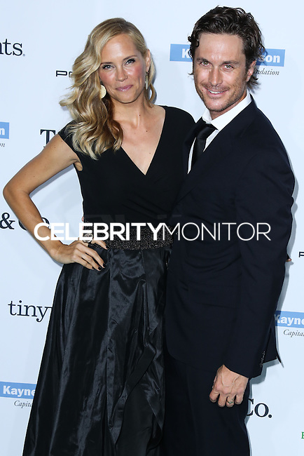 CULVER CITY, LOS ANGELES, CA, USA - NOVEMBER 08: Erinn Bartlett, Oliver Hudson arrive at the 3rd Annual Baby2Baby Gala held at The Book Bindery on November 8, 2014 in Culver City, Los Angeles, California, United States. (Photo by Xavier Collin/Celebrity Monitor)