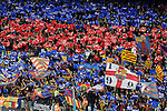 FC Barcelona's supporters during La Liga match. April 2,2016. (ALTERPHOTOS/Acero)