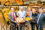 Garveys Tralee Tidy Towns Volunteer of the monthly winner Michael Cahill, Spa Road. Pictured here with Kevin McCarthy, Denice O'Donnell  Cllr Sam Locke,  Jim Garvey