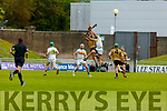 Action from Kerry v Offaly in the Joe McDonagh Cup relegation game in Tralee on Saturday.