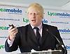 Boris Johnson <br /> Mayor of London <br /> visits Lycamobile Global HQ in Docklands, London, Great Britain <br /> 21st July 2011 <br /> <br /> <br /> Boris Johnson <br /> London Mayor<br /> <br /> <br /> <br /> Photograph by Elliott Franks