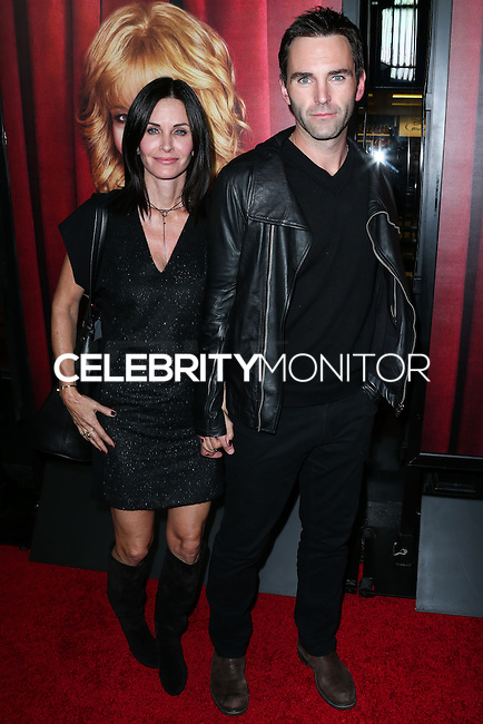 HOLLYWOOD, LOS ANGELES, CA, USA - NOVEMBER 05: Courteney Cox, Johnny McDaid arrive at the Los Angeles Premiere Of HBO's 'The Comeback' held at the El Capitan Theatre on November 5, 2014 in Hollywood, Los Angeles, California, United States. (Photo by Xavier Collin/Celebrity Monitor)