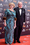 Agustin Almodovar attends to the Red Carpet of the Goya Awards 2017 at Madrid Marriott Auditorium Hotel in Madrid, Spain. February 04, 2017. (ALTERPHOTOS/BorjaB.Hojas)