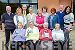 Launching the Cluid house residents new CD Cluid singers on Tuesday were front row l-r:Bridie O'Riordan, Catherine Crowe, Eileen Moran, Noreen Reidy. Back row: Mike Scannell, Denise, Fitzgerald, Layy O'Mahony, Meriel O'Mahony, Mary Conway, Sheila Angland, Gracy Angalnd Gracy Hopkins, Patsy O'Flaherty and Philimena O'Connor