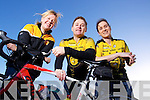 Members of Tralee Triathlon club who are looking for new members, pictured l-r: Annie Horgan, JJ Coffey and Leanne McCarthy.