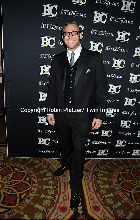 chef Chris Nirschel attends the 2011 Broadcasting & Cable Hall of Fame Awards on October 26, 2011 at the Waldorf Astoria Hotel in New York City.