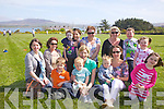 'Cricket Fans', pictured here in Cracow Park, Valentia on Easter Sunday watching the local Cricket teams in action were front l-r; Philip, Evan & Caroline Daly, Mathew, Lisa & Emma Foran, back l-r; Alma Ni? Choigligh, Denise Gallagher, Fionn Cusack, Aine Cusack, Marion Curtin, Michelle, Adam & Rachel O'Shea.