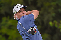 Aaron Wise (USA) watches his tee shot on 14 during the round 1 of the AT&T Byron Nelson, Trinity Forest Golf Club, Dallas, Texas, USA. 5/9/2019.<br /> Picture: Golffile | Ken Murray<br /> <br /> <br /> All photo usage must carry mandatory copyright credit (© Golffile | Ken Murray)