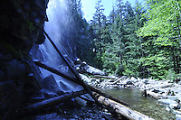 Bridal Veil Falls, Mt. Baker-Snoqualmie National Forest, Washington, US