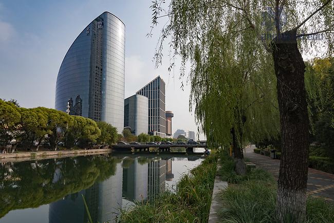 October 15, 2017; Genesis Beijing building, which houses the Notre Dame Beijing Global Gateway. (Photo by Matt Cashore/University of Notre Dame)