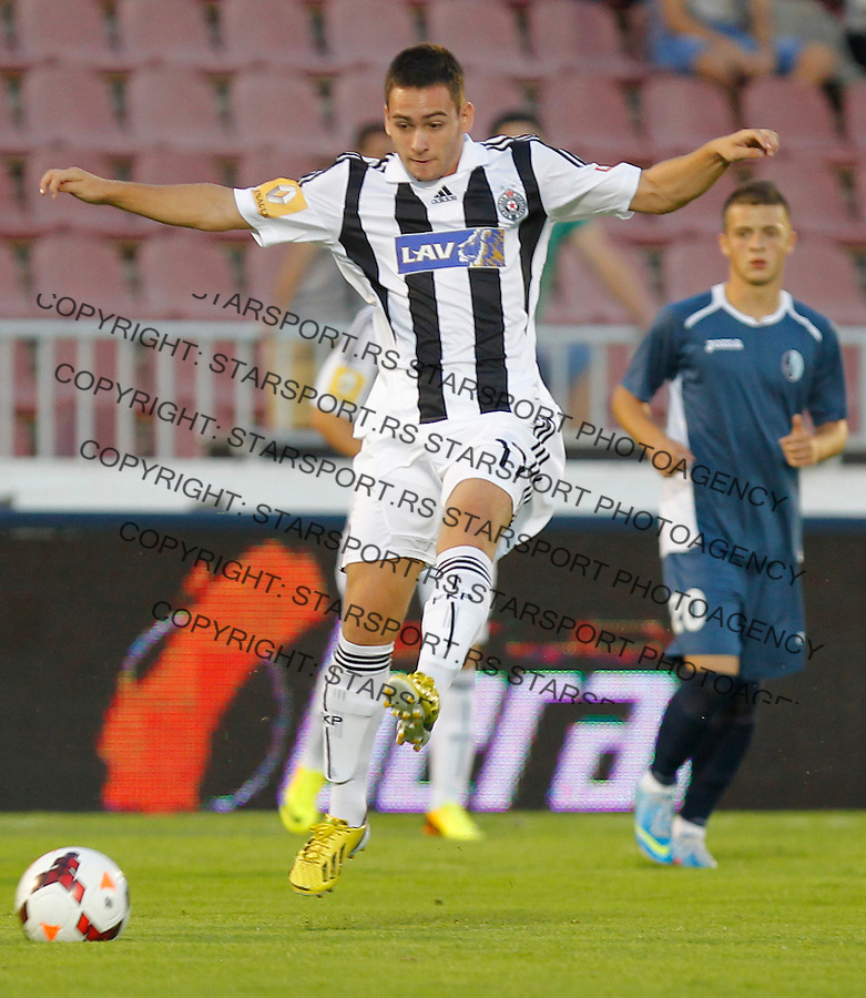 Fudbal Super liga season 2013-2014<br /> Partizan v Rad<br /> Andrija Zivkovic<br /> Beograd, 01.09.2013.<br /> foto: Srdjan Stevanovic/Starsportphoto &copy;