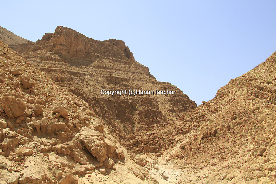 Israel, Nahal Abuv in the Negev