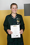 Orienteering Girls Winner - Nicola Peat. ASB College Sport Young Sportsperson of the Year Awards 2006, held at Eden Park on Thursday 16th of November 2006.<br />