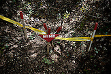 Selbstgebaute Landmine / Homemade land mine.