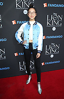 "05 August 2017 - Los Angeles, California - Madison Hu. ""The Lion King"" Sing-Along Screening. Photo Credit: F. Sadou/AdMedia"