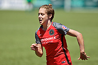Portland, OR - Saturday July 15, 2017: Meghan Klingenberg during a regular season National Women's Soccer League (NWSL) match between the Portland Thorns FC and the North Carolina Courage at Providence Park.