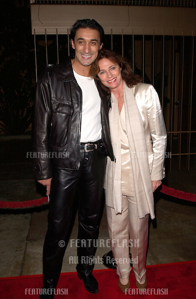 Actress JACQUELINE BISSET & boyfriend EMIN BOZTEPE at the Los Angeles premiere, in Hollywood, of Requiem For A Dream..16OCT2000.  © Paul Smith / Featureflash