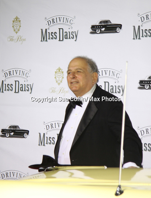 Playwright Alfred Uhry at Opening Night of Broadway's Driving Miss Daisy on October 25, 2010 and the after party at the Plaza, New York City, New York. (Photo by Sue Coflin/Max Photos