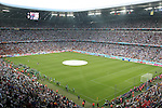 05 July 2006: A wide shot of the stadium before the game. France defeated Portugal 1-0 at the Allianz Arena in Munich, Germany in match 62, the second semifinal game, in the 2006 FIFA World Cup.
