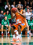 S&ouml;dert&auml;lje 2015-02-07 Basket Basketligan S&ouml;dert&auml;lje Kings - Bor&aring;s Basket :  <br /> Bor&aring;s Adama Darboe i aktion under matchen mellan S&ouml;dert&auml;lje Kings och Bor&aring;s Basket <br /> (Foto: Kenta J&ouml;nsson) Nyckelord:  S&ouml;dert&auml;lje Kings SBBK T&auml;ljehallen Bor&aring;s Basket portr&auml;tt portrait