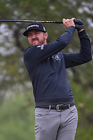 Jimmy Walker (USA) watches his tee shot on 2 during Round 3 of the Valero Texas Open, AT&amp;T Oaks Course, TPC San Antonio, San Antonio, Texas, USA. 4/21/2018.<br /> Picture: Golffile | Ken Murray<br /> <br /> <br /> All photo usage must carry mandatory copyright credit (&copy; Golffile | Ken Murray)