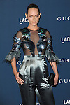 "Amber Valletta arriving at the ""LACMA 2013 Art + Film Gala"" honoring David Hockney and Martin Scorsese, held at The Los Angeles County Museum of Art on November 2, 2013"